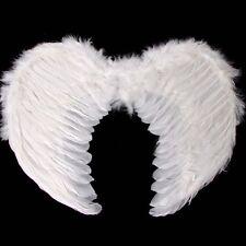 Christmas Decoration Feather Angel Wings XMAS Dress Costume Hen Black,White UK