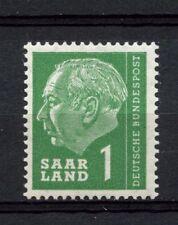 Saar 1957 SG377 1f President Heuss MNH #A3826