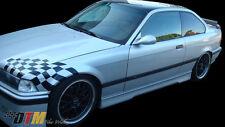 BMW E36 '92-98 HM Style Side Skirts Body Kit Fiberglass