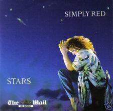 SIMPLY RED - Stars (UK 10 Tk CD Album) (Mail On Sunday)
