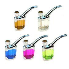 US Mini Water Smoking Pipe Tube Portable Holder  Tube Hookah Water Filter Kits