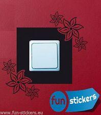 Lichtschalter Steckdosen Umrandung Nr.2 Aufkleber Sticker Tattoo freie Farbwahl