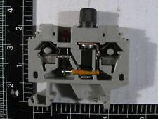 WAGO(#282-128/281-413) 2-cond. fuse term. blk w/24v LED