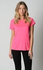 Ladies Urbane Activ Short Sleeve Sports / Gym Top sizes 8 10 Colour Pink