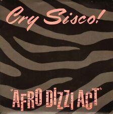 """CRY SISCO afro dizzi act/ki ton ko AWOL 1 uk escape record 1988 7"""" PS EX/EX"""