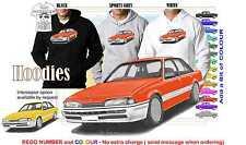 86-88 VL COMMODORE SEDAN HOODIE ILLUSTRATED CLASSIC RETRO MUSCLE SPORTS CAR