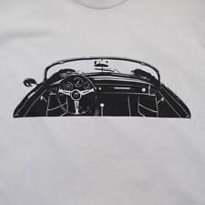 PORSCHE 356 SPEEDSTER DASH T-shirt SCCA LeMANS PCA POC SPORT CAR RACING Carrera