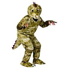 Adult DINOSAUR Mascot Reptile Animal Prehistoric Fancy Dress Costume Unisex