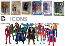 DC Comics Icons-Superman/Joker/Aquaman etc collection action figures-neuf