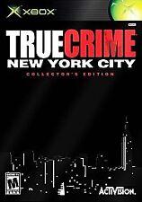 True Crime: New York City -- Collector's Edition  (Xbox, 2005) (no DVD Bonus)