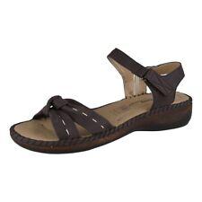 LISANNE Comfort Sandalias De Dama Marrón Oscuro