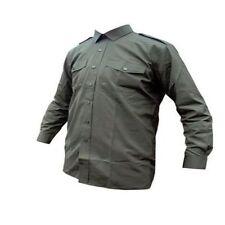British army surplus olive green long sleeve general service shirt GRADE 1