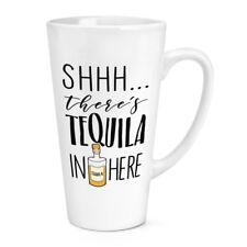 - Non giurare non c'è qui Tequila 17 OZ (ca. 481.93 g) Grande Tazza Latte Macchiato-Divertente