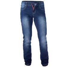Hombre Denim Jeans Corte Cónico D555 Duke Grande Tamaño King pantalones NUEVOS