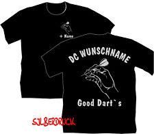 Dartshirt Dart T Shirt Hemden Dartclub Dartverein Bekleidung Motiv Good Darts 11