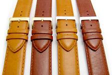 Resiliente IMBOTTITO cinturino in pelle da APOLLO 24mm Marrone o Marroncino