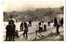 CPSM 65 Hautes-Pyrénées Superbagnères Skieurs