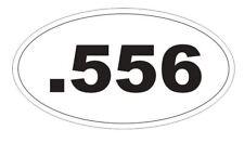 .556 Magnum Oval Bumper Sticker or Helmet Sticker D3755 Euro Oval Guns Weapons