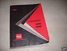 1993 GM GMC Safari VAN Service Repair Shop Workshop Manual Factory Book 1993