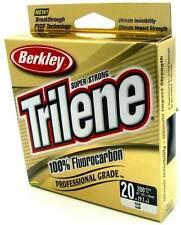 Berkley Trilene 100% Fluorocarbon Professional Grade Clear Fishing Line