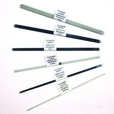 FIBREGLASS POLE FLOAT STEMS (30 X 200mm) CLEAR / BLACK