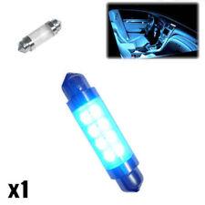 1x Bmw Serie 3 E46 320d 239 C5w Interior Azul cortesía bombilla LED de actualización de luz