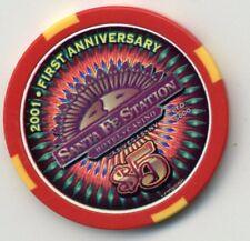 SANTA FE 2001 FIRST ANNIVERSARY  CASINO $5 CHIP
