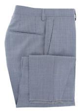 dccc3d78f3c527 475$ Incotex Blu Scuro Micro-Houndstooth Lana Pantaloni - Slim - (0O)