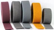 Schleifvlies 100mm Meterware Schleifgewebe Schleifwolle medium fein Micro Rolle