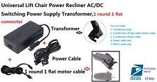 Ashley Okin Limoss Lift Chair electric recliner 29V 2A Power Supply Transformer