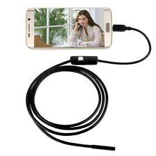 ENDOSCOPIO USB TELECAMERA CELLULARE ISPEZIONE FLESSIBILE 6 LED ANDROID PC IP67