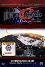 HERITAGE CLASSIC DVD Edmonton Oilers vs. Montreal Canadiens NHL Hockey NEW