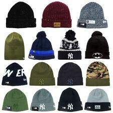 NEW ERA Chapeau BEANIE Bonnet CAP Hat tricoté Neuf HOMME FEMME Hivernal DIVERS 4