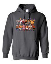 "Classic Nes Nintendo ""8 Bit"" PUNCHOUT Hooded SWEATSHIRT HOODIE"
