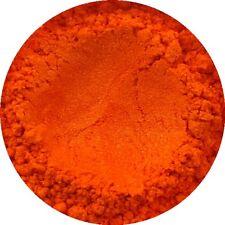 Clementine Orange Cosmetic Mica Powder 3g-50g Pure Soap Bath Bomb Colour Pigment