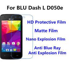 3pcs For BLU Dash L D050e Matte/Nano Explosion/Anti Blue Ray Screen Protector