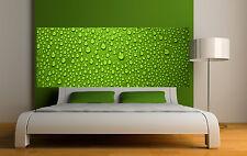 Sticker tête de lit décoration murale Gouttes d'eau réf 3631 (5 dimensions)