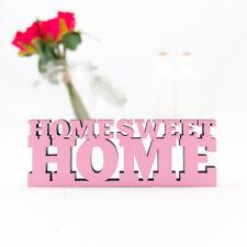 "Kleinlaut 3D-Schriftzug ""Home sweet home"" 2-zeilig 32 Farben & 3 Größen Geschenk"