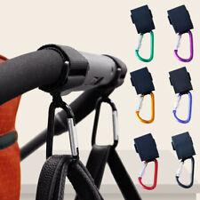Multi-function New Pram Baby Stroller Hook Cart Hooks Hanger Bag Pouch Hanging