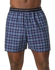 Hanes Men's Yarn Dyed Plaid Boxers 5-Pack Men's Underwear
