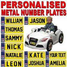 Personnalisé Enfants Ride Sur Pédale Voiture électrique Mini plaque d'immatriculation-Trike Camion jouet
