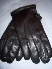 Men's Grandoe Finest Rabbit Fur lined Leather Gloves,Brown