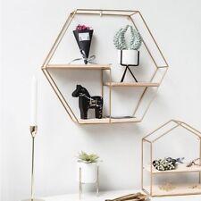 Metal Wall Shelf Modern Solid Small Decoration Ornaments Racks Living Room Decor
