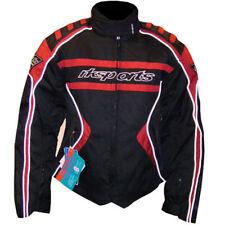 RK Deportivo Mujeres Rojo Negro Corto Térmico Chaqueta moto motocicleta