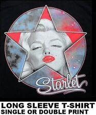 BEAUTIFUL SEXY ICONIC SUPER MOVIE STAR MARILYN MONROE CELEBRITY ART T-SHIRT X127
