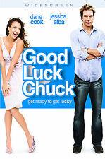 Good Luck Chuck (Widescreen Edition), Good DVD, Jessica Alba, Dane Cook,