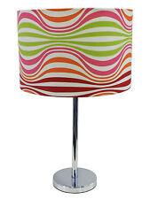 Lampada design con paralume colorato da tavolo salotto camera IBIZA LAMP