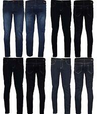 Nouveau haut femmes taille plus jean stretch délavé slim jeans 14 16 22 24 26 28