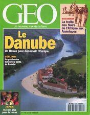 Geo #179 -Le DANUBE- Central Park, Sakurajima, Singes bonobos, Cachemire,...