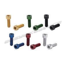 KCNC 7075AL Water Bottle Cage Screw M5 x 15mm 2pcs/pack 6 Colours
